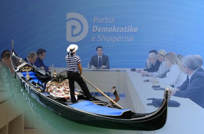 """MERO BAZE/ Një """"gondola"""" veneciane, për t'u kthyer pa lagur në Kuvend"""