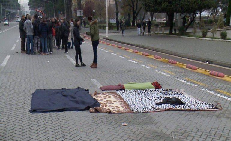 XHOVANI SHYTI/ Harresa fatale e studentëve protestues