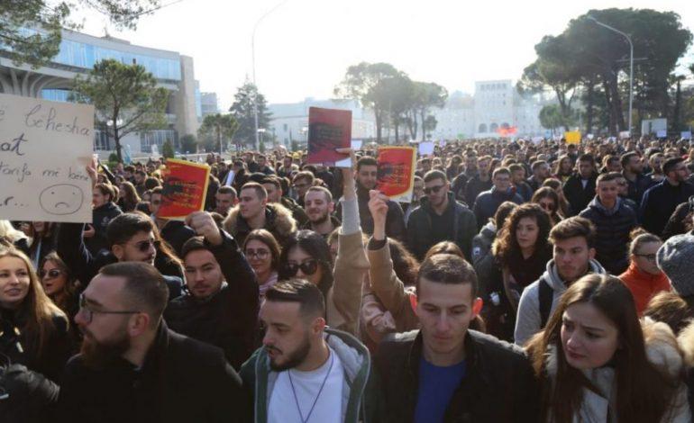 YLLI DOÇI/ Protesta studentore, si pranvera në dimër!