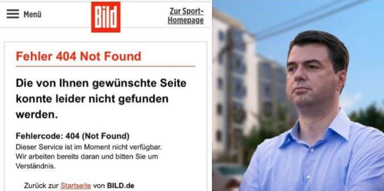 """ENDRI KAJSIU/ Heshtja e """"Bild"""" dhe çfarë fshihet pas heqjes së shkrimit kundër Bashës"""